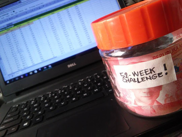 52 week money and ipon challenge